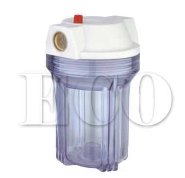 plastic filter housing