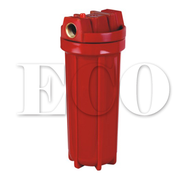 10 in-line water filter housing