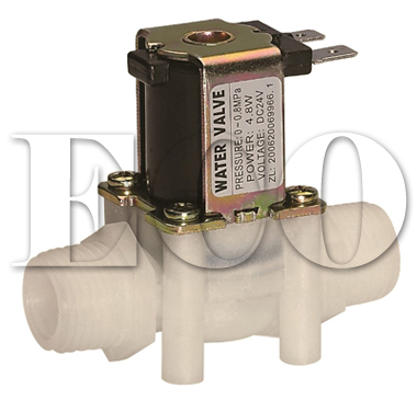 low pressure plastic water solenoid valves